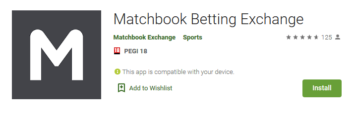 Matchbook betting exchange App
