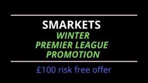 Smarkets Winter Premier League promotion - feature image